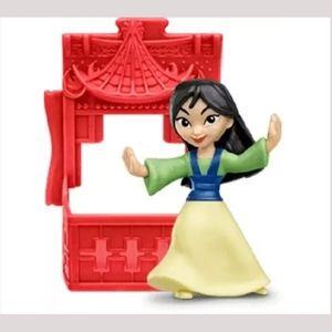 Disney Princes Mulan #4 McDonald's Happy Meal Toy